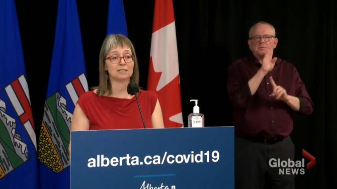 Click to play video: Alberta identifies first case of B.1.617 COVID-19 variant