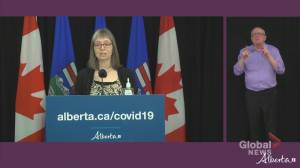 COVID-19: Alberta's top doctor discusses situation surrounding GraceLife Church near Edmonton (02:19)
