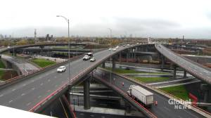 Major work on the Turcot Interchange is done (01:21)
