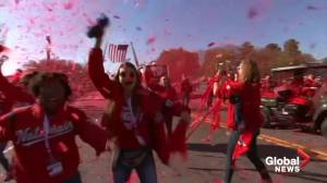 Confetti rains down on Washington Nationals championship parade