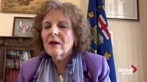Lt.-Gov. Lois Mitchell thanks Albertans for COVID-19 response