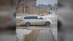 Calgary police release picture of vehicle reportedly involved in attempted kidnapping (01:37)