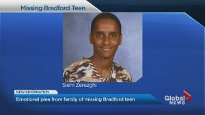 Police reveal new timeline in search for missing Bradford teen (02:04)