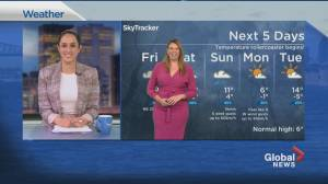 Global News Morning weather forecast: March 26, 2021 (01:44)
