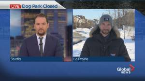 A South Shore dog park is closed following complaints from local residents. (01:29)
