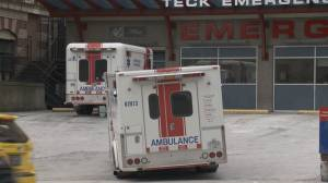 Sherriffs save judge after B.C. ambulance delays create a tense situation at B.C. Supreme Court (01:43)