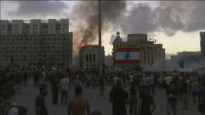 Beirut Explosion: Protesters chastise government in Lebanon's capital