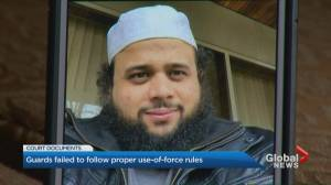 Jail guards used 'triple threat' in death of Soleiman Faqiri, court documents reveal (01:55)