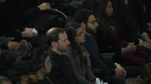 Emotional ceremony honours Iran plane crash victims in Edmonton