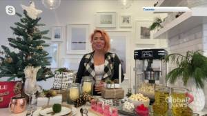 HGTV host and celebrity designer Jo Alcorn on making your house look holiday ready on a budget (04:28)