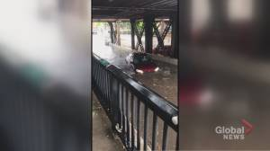 Thunderstorms cause significant flooding in Toronto