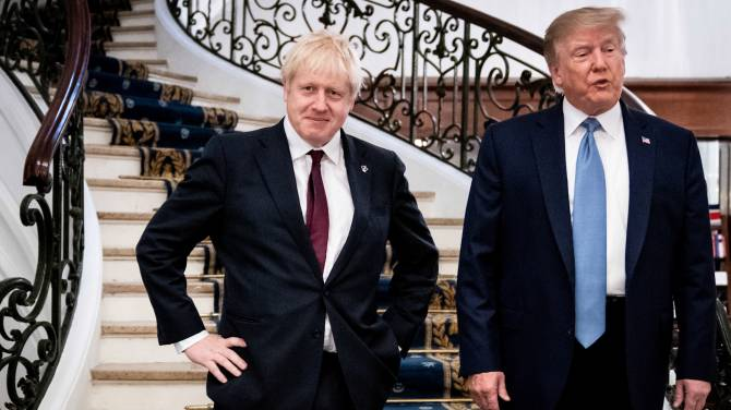 Trump approves of Johnson's tough approach to Brexit, promises 'very big trade deal'