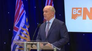 B.C. Leaders debate 2020: Wilkinson says CleanBC Plan is a 'giant hot air balloon' (02:22)