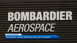 Bombardier announces plans to lay off approximately 1,600 workers (00:24)