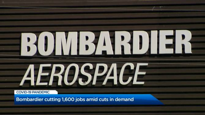 Click to play video: Bombardier announces plans to lay off approximately 1,600 workers
