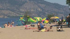 Heat wave smashes records in the Okanagan (01:37)
