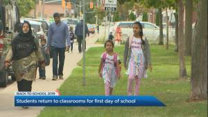 1st day of school brings excitement and renewed calls for safety