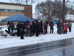 Peterborough and area public high school tears part of third strike in as many weeks