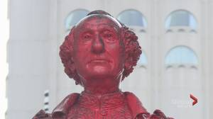 John A. MacDonald statue in controversy yet again