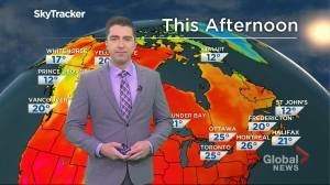 Saskatchewan weather outlook: July 22 (02:44)