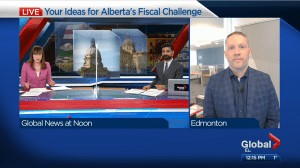 Your ideas for Alberta's fiscal challenge (04:49)