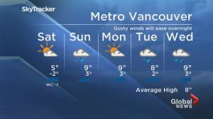 B.C. evening weather forecast: Feb. 26 (01:22)