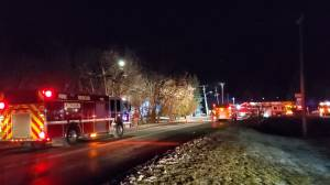 No injuries in Christmas Day fire in Kingston's west end