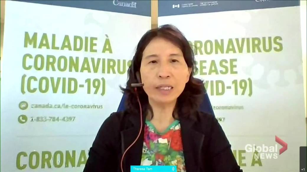 Click to play video: 'Canada's COVID-19 cases slightly up, serious outcomes still declining: Dr. Tam'