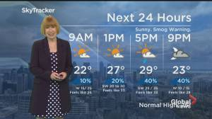 Global News Morning weather forecast: July 26, 2021 (01:50)