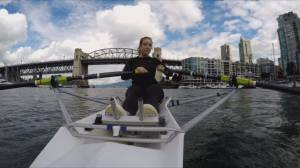 Vancouver woman tackles epic challenge for charity (02:02)