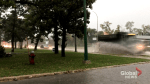 Winnipeg roads flood during severe thunderstorm