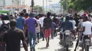 Seventeen missionaries kidnapped in Haiti include Canadian citizen (02:16)