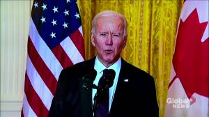 Biden calls on China to release Michael Kovrig, Michael Spavor (00:40)