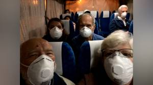 Coronavirus outbreak: U.S. couple films moments after disembarking Diamond Princess cruise