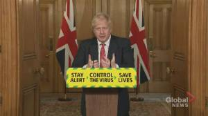 Coronavirus outbreak: Johnson says social distancing measures must remain in place as restrictions lifted