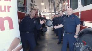 Fire department urges Calgarians to 'stand by your pan' in social media video (02:40)