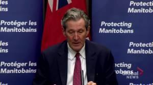 Coronavirus: Manitoba government providing $5 million in relief for restaurants (01:18)