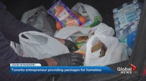 24-year-old entrepreneur spreading joy, delivery care packages to Toronto's most vulnerable