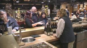 Thousands of litres of Okanagan wine dumped down a drain