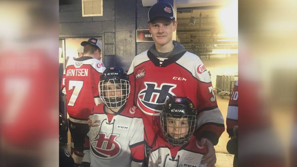Click to play video 'Lethbridge Hurricanes billet families deal with quiet homes in 2020'