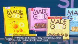Easy & delicious back-to-school snack ideas (03:41)