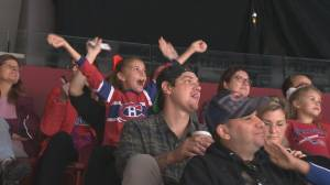 Montreal hockey fans attend red and white scrimmage