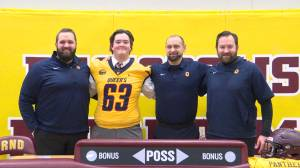 Kingston football star Zach Dodge commits to Queen's University