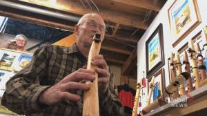 NB man handcrafts flutes from Bay of Fundy driftwood