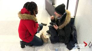 Montrealers kick off 2020 by helping the homeless