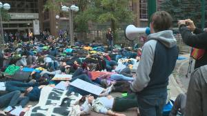 Edmontonians rally to demand action on climate change