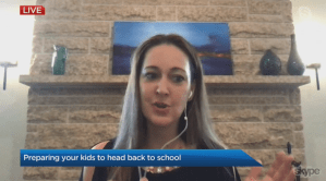 Preparing kids for back to school