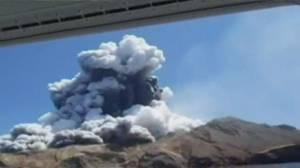 New Zealand volcano erupts, killing 5 people (02:25)
