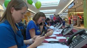 Annual Share a Smile telethon excites the crowd at Cherry Lane Shopping Centre