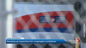 New COVID-19 outbreak declared at Toronto Canada Post facility (02:39)